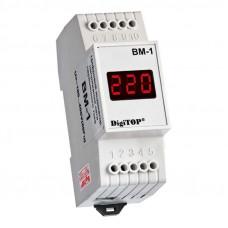 Вольтметр цифровой однофазный 220 В DigiTOP ВМ-1